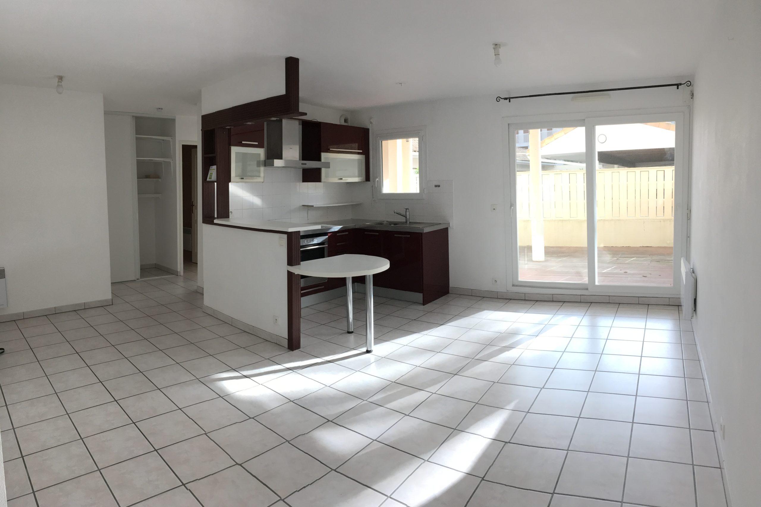 Exclusivité –  T2 avec terrasse 25 m²